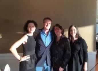 DeLauné with John Freeman Gil, Meg Wolitzer, & J. Courtney Sullivan
